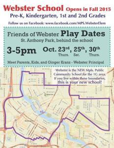 Webster Reopening Flyer