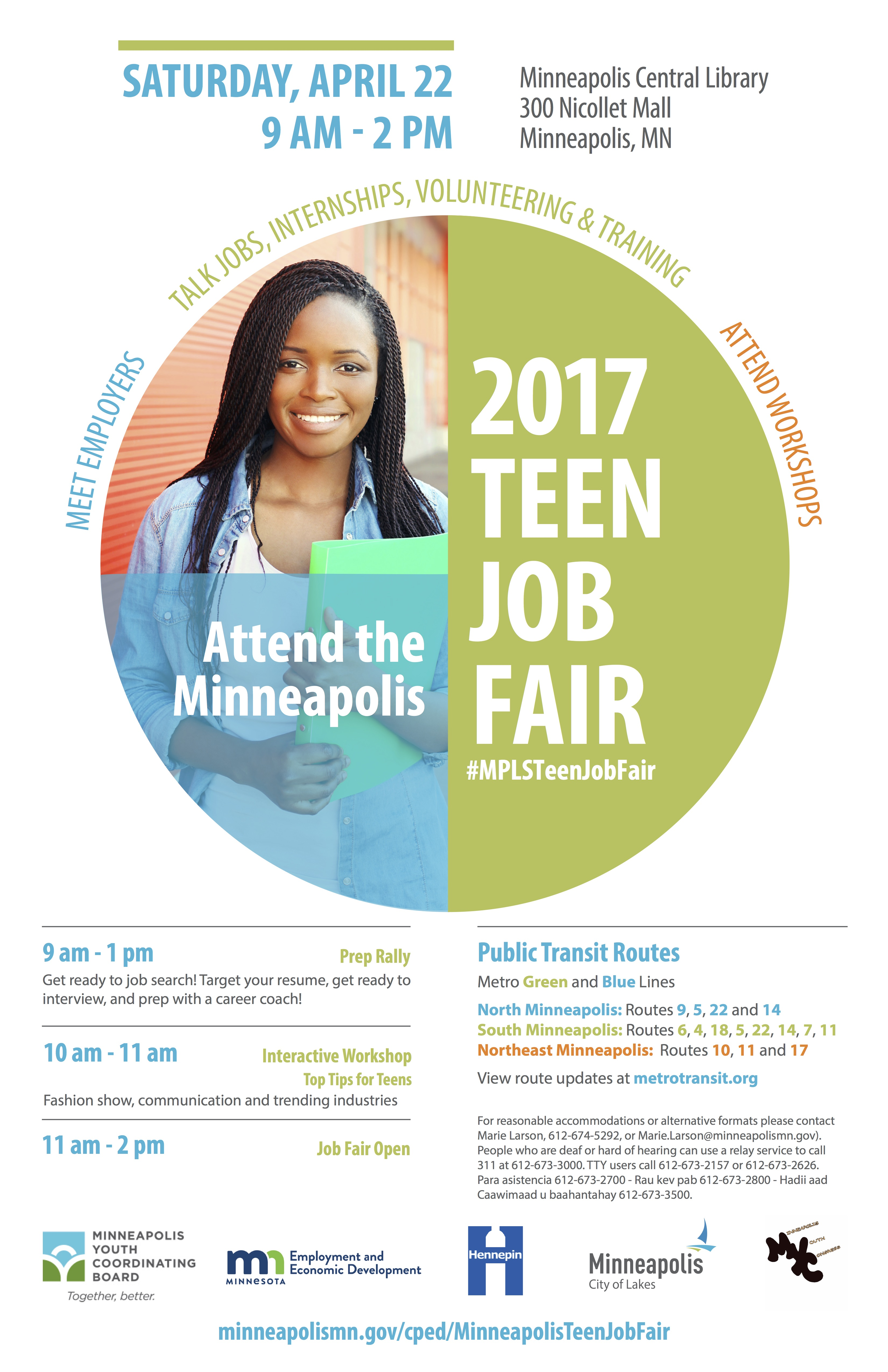 Minneapolis Teen Job and Opportunity Fair 2017 – ST. ANTHONY EAST ...