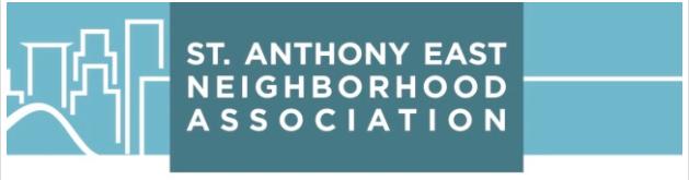 St. Anthony East Neighborhood Association Logo